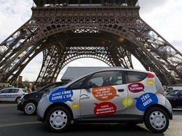 Autolib' : un week-end record des locations