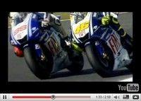 Moto GP : Rossi/Lorenzo, le combat des chefs [vidéo]