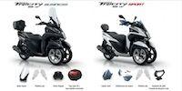 Yamaha Tricity 125 : séries spéciales Sport & Business jusqu'au 31 mai