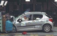 Crash test : 5 étoiles pour la Peugeot 207