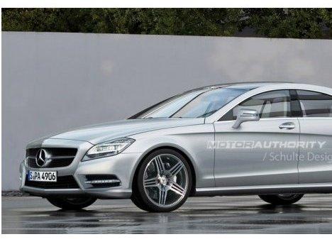 Futur Mercedes CLS : probablement comme ça