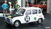 Miniature : 1/43ème - RENAULT R4L