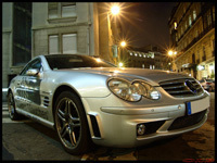 La photo du jour : Mercedes SL65 AMG