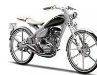 Concept - Yamaha Y125 MOEGI: Hô la belle bleue !