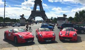 Paris: les loueurs de supercars dans le viseur de la Police