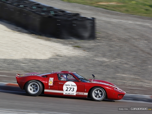 Photos du jour : Ford GT40 (Tour Auto)