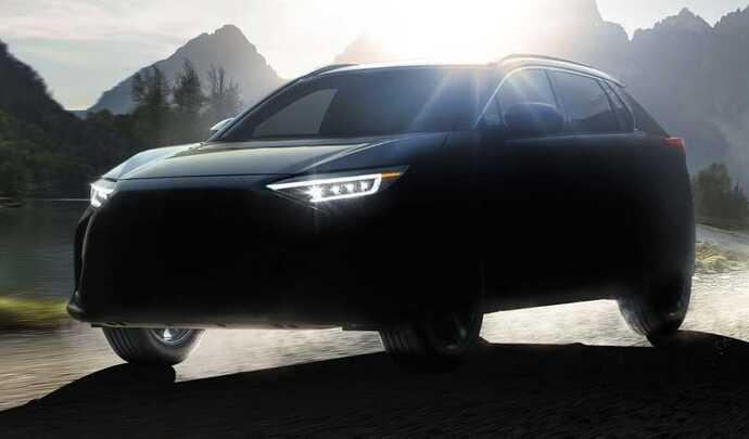 Subaru annonce sa première voiture électrique, la Solterra