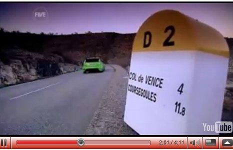 [vidéo] : deuxième essai Ford Focus RS : Fifth Gear envoie Jason Plato !