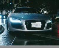 Audi R8 : guest car du film Iron Man