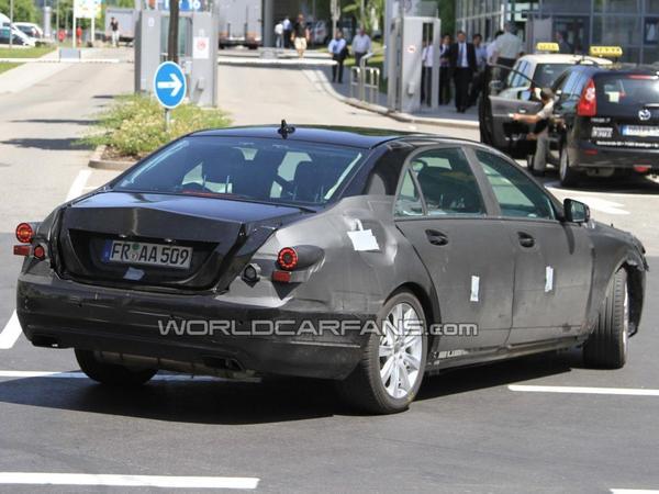 Future Mercedes Classe S: elle roule