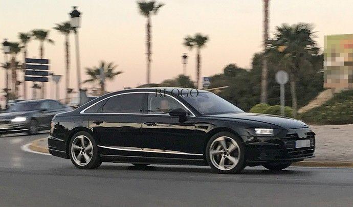 Nouvelle Audi A8 : peu de changements esthétiques