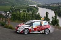 Tour de Corse: Yann Bonato au volant d'une C2 S1600