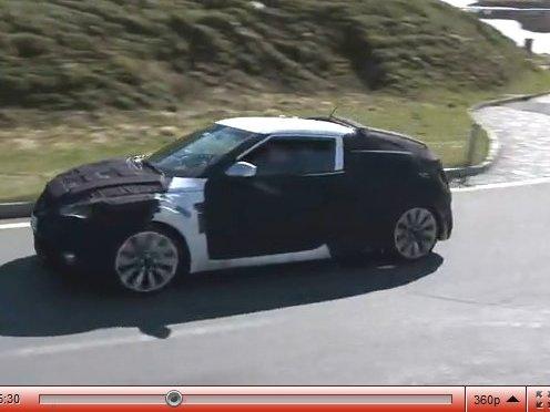 [vidéo] le futur Hyundai Veloster à la montagne