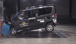 Crash-test Euro NCAP: encore un résultat mitigé pour Fiat avec le Doblo