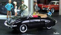 Miniature : 1/43ème - RENAULT 4cv cabriolet Vutotal Labourdette