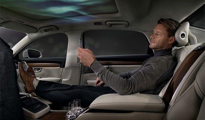 Volvo dévoile un concept d'ambiance intérieure sur la S90