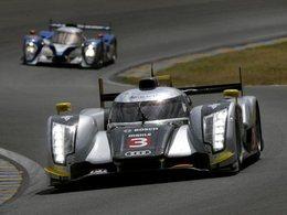 (Direct Le Mans) Le safety car en piste suite au crash de l'Audi n°3