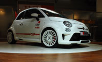 Live in Francfort: Fiat 500 Cup par MS Design