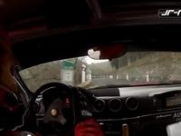 Vidéo : Une Ferrari à l'attaque en rallye