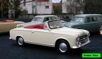 Miniature : Peugeot 403 cabriolet de 1960