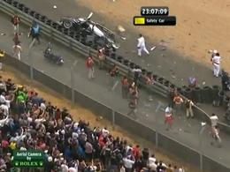 (Direct Le Mans) L'accident de McNish en vidéo