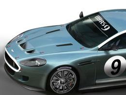 Encore une Art Car dans la course : cette fois, une Aston Martin DBRS9 aux 24 Heures de Spa