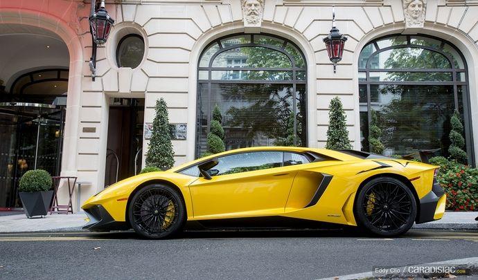 Photos du jour : Lamborghini Aventador SV