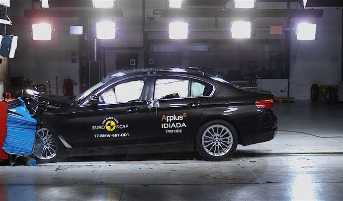 La BMW Série 5 remporte 5 étoiles au crash-test