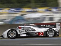 22 h : l'Audi 2 mène. La Peugeot 7 à l'affût