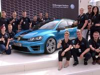 Wörthersee 2015 : Volkswagen Golf Variant (SW) Biturbo Edition, le break des apprentis