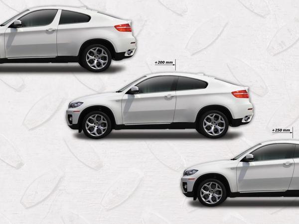 BMW X6 ArmorTech 3 portes : un vrai SUV coupé