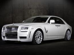 Mansory range ses tubes de peinture : Rolls Royce White Ghost Limited