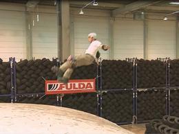 Une campagne originale pour Fulda avec Taïg Khris, triple champion du monde de roller sur rampe