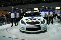 Direct Francfort: Suzuki SX4 WRC et ses pilotes