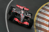 GP de Belgique : Libres 2, le gris remplace le rouge