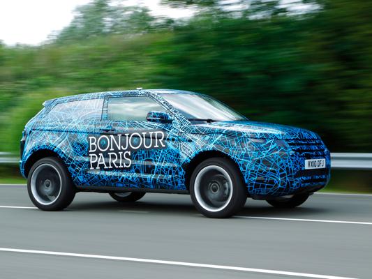 Les prototypes Range Rover Evoque envahissent la planète
