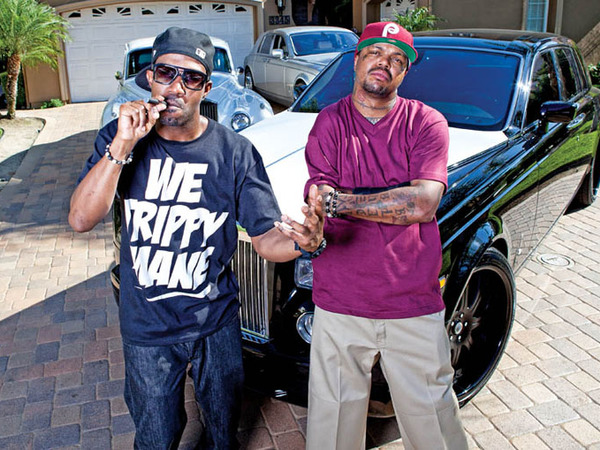Le garage du groupe Three 6 Mafia