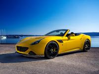 Ferrari California T Novitec Rosso, des chevaux cheveux au vent