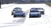 Vidéo Best Motoring : Nissan GTR vs Ferrari F430 Scuderia VS Lamborghini LP560-4 vs Porsche GT2 ...