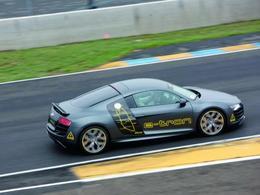 Silvretta E-Auto Rally Montafon 2010 : l'Audi R8 E-Tron a décroché la 1ère place