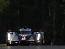 9h : Audi prend l'avantage