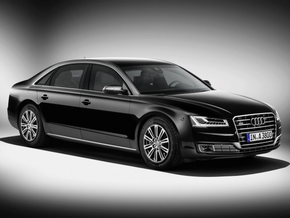Rapid'news - Audi A8 L Security...