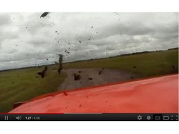 [vidéo] Rater le point de freinage sur un aéroport en Aventador, on décolle ?