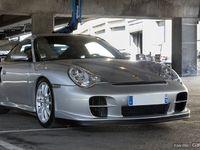 Photos du jour : Porsche 911 996 GT2 (Rétromobile)