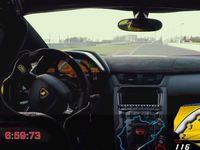 Ring Folies : la Lamborghini Aventador SV sous les 7mn