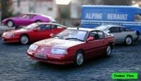 Miniature : Renault Alpine V6 Turbo Mille Miles de 1989