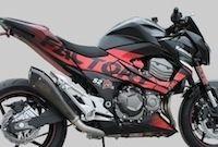 S2 Concept, kit déco Factory pour Kawasaki Z800