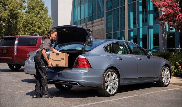 Volvo s'associe à Amazon pour la livraison au véhicule