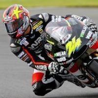 GP125 - Grande Bretagne Q.1: Corsi devant, Di Meglio trop loin derrière