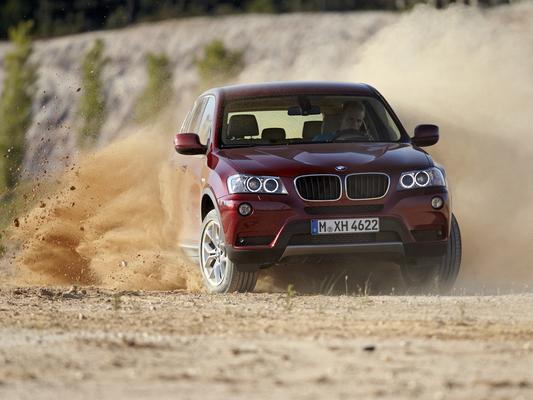 [vidéo] le nouveau BMW X3 en 8 vidéos